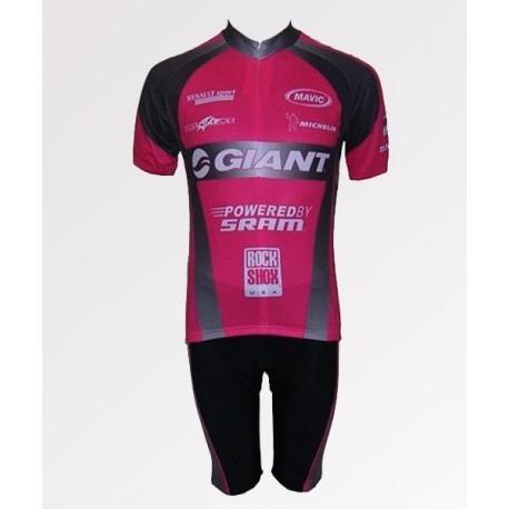 Giant розовый - велокуртка легкая командная