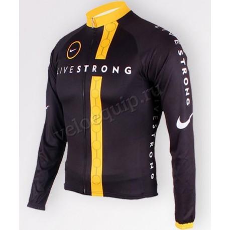 LIVESTRONG'11 - велокуртка утепленная командная