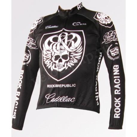 ROCK RACING black - велокуртка утепленная командная