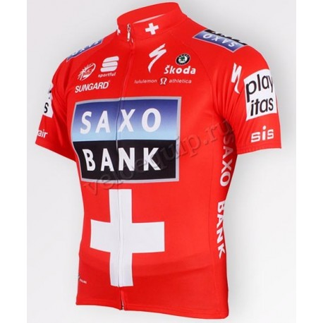 SAXO BANK RED - веломайка командная