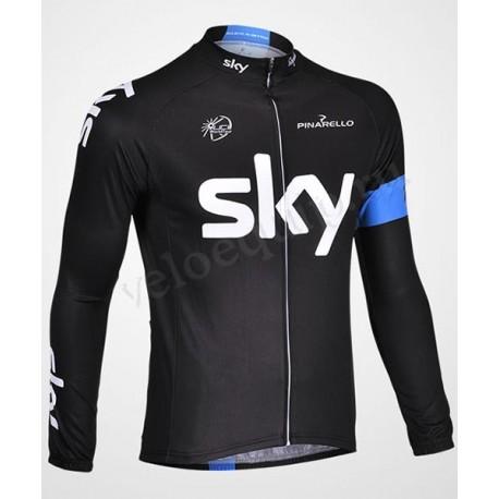 SKY black - велокуртка легкая командная