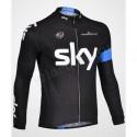 SKY black - велокуртка утепленная командная