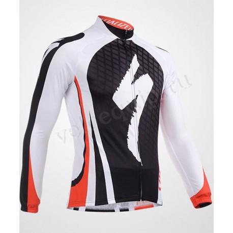 SPECIALIZED black white - велокуртка утепленная командная