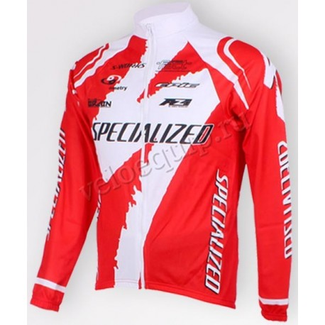 SPECIALIZED red - велокуртка легкая командная