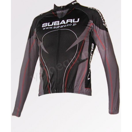 Subaru black - велокуртка легкая командная