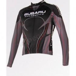 Subaru black - велокуртка утепленная командная
