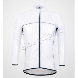 Monton Basic Raincoat white