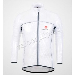 Castelli Raincoat white