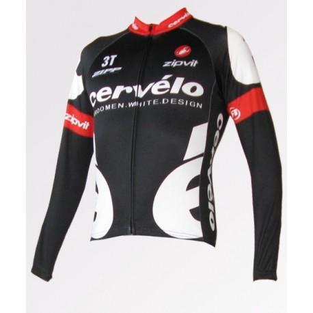CERVELO black - велокуртка командная легкая
