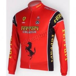 Ferrari Colnago - велокуртка командная утепленная