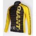 GIANT yellow - велокуртка утепленная командная